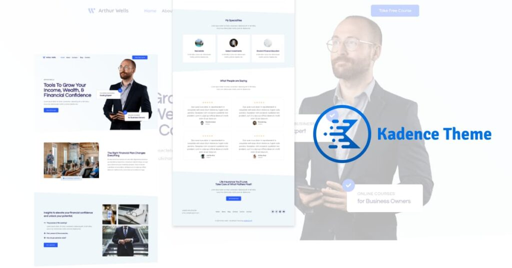 Kadence - Theme wordpress themes for personal branding
