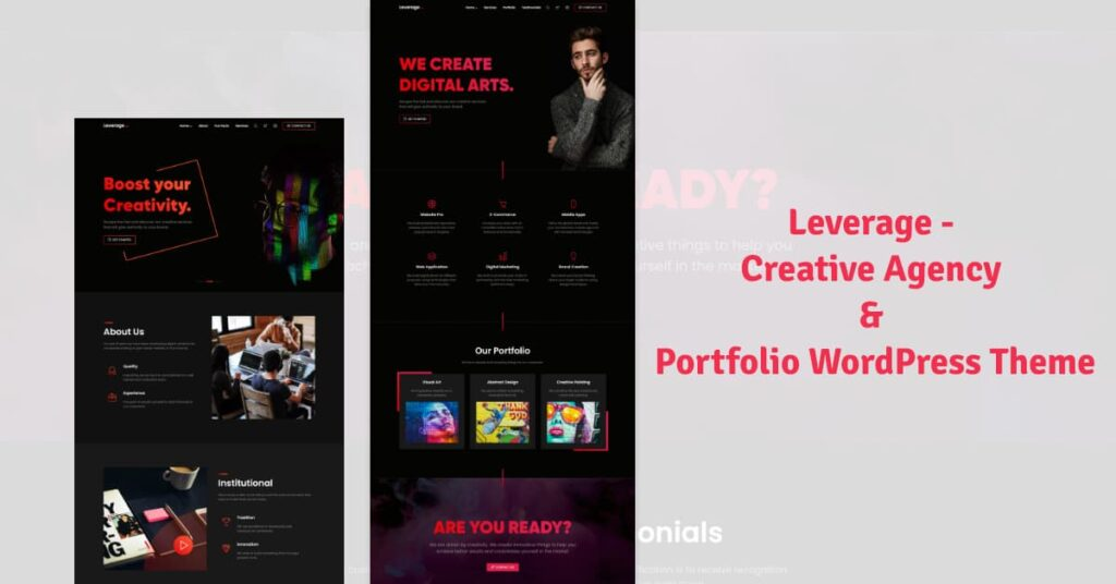 Leverage - Creative Agency & Portfolio WordPress Theme (1)