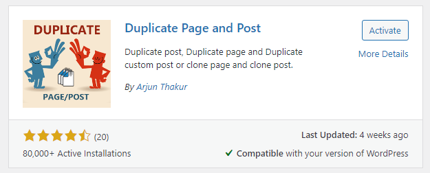 Duplicate Page and Post How to Duplicate a Page in WordPress BoomDevs