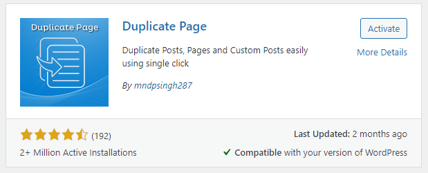Duplicate Post How to Duplicate a Page in WordPress BoomDevs