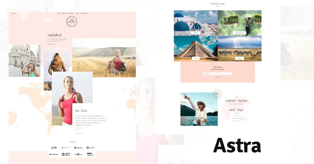 Astra for Best WordPress Themes for Travel Blogs BoomDevs