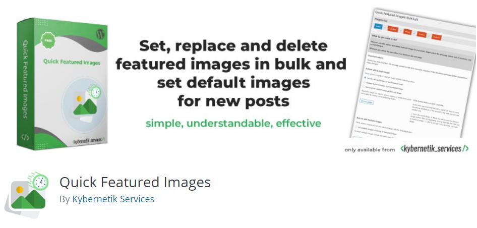 Quick Featured Images BoomDevs