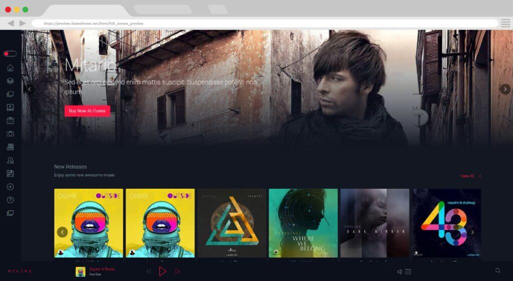 14. Rekord Ajaxify Music Events Podcasts Multipurpose WordPress Theme BoomDevs