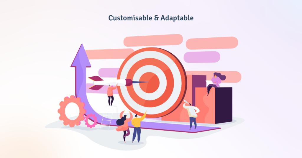 Customisable & Adaptable