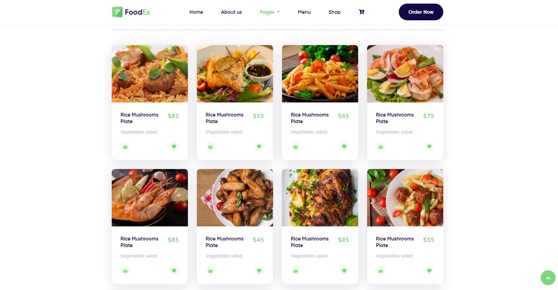 FoodEx - HTML Template For Food & Restaurant Website (3)