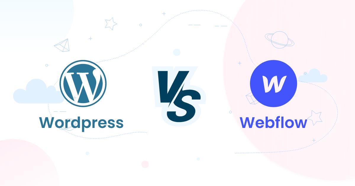 Webflow vs WordPress Battle BoomDevs